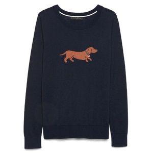 Dachshund Crew Neck Sweater